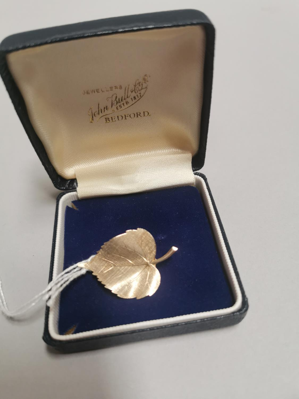 9ct gold brooch