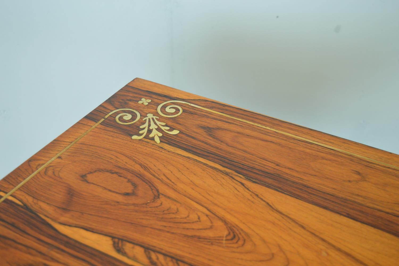Regency rosewood card table - Image 4 of 4