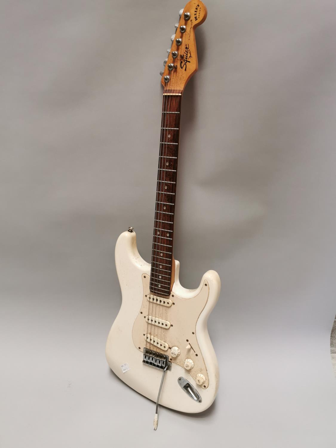 Squire Fender electric guitar