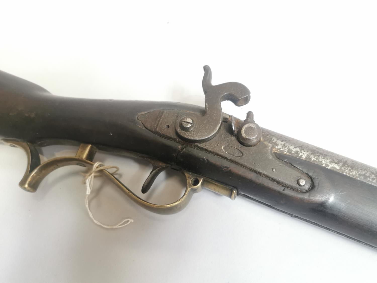 19th. C. Brunswick Percussion Infantry Rifle - Image 2 of 2