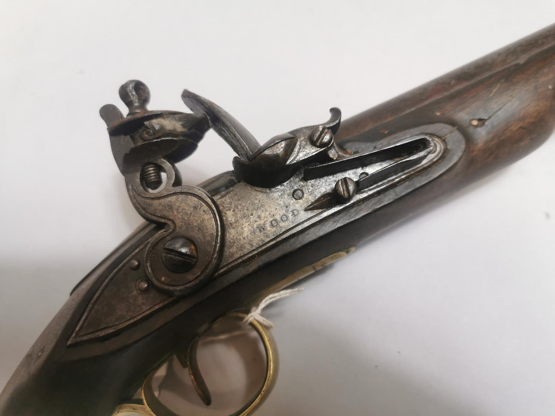 Early 19th. C. flintlock pistol - Image 2 of 2
