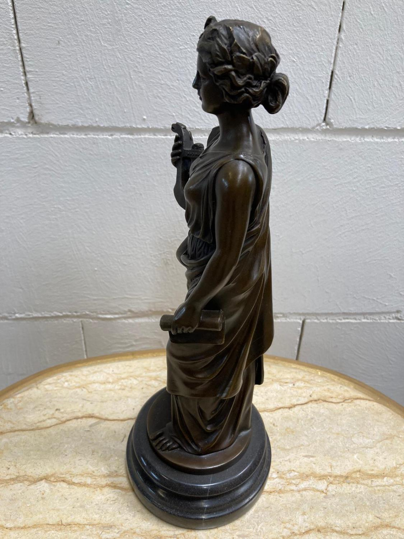 "Bronze Statue - Set of four ""Allegorical Figures""."