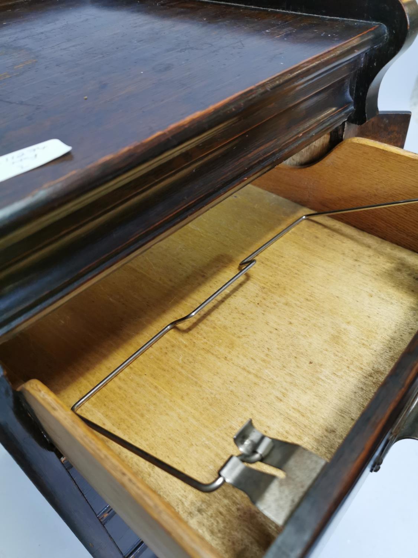 Art Deco oak filing cabinet - Image 4 of 7