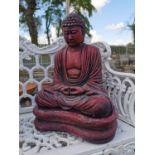 Composition Buddha statue.