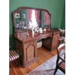 19th. C. mahogany sideboard