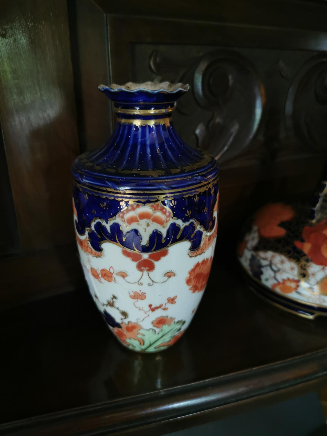 Pair of vases and R scent bottle - Image 2 of 2