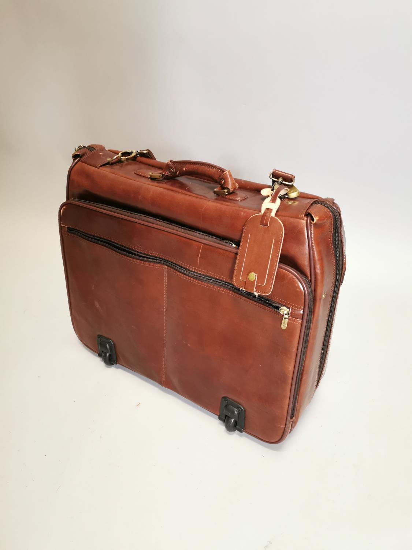 Condoffi gent's leather travel bag
