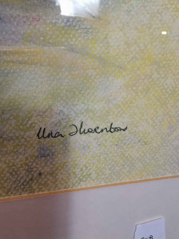 Una Thornton Nude Watercolour - Image 2 of 2