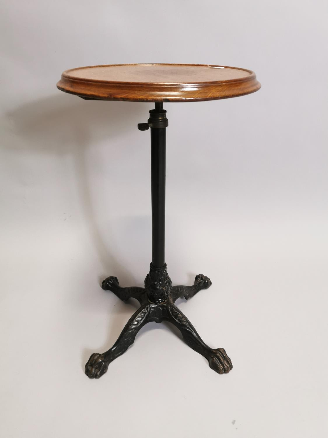 Early 20th. C. wine table
