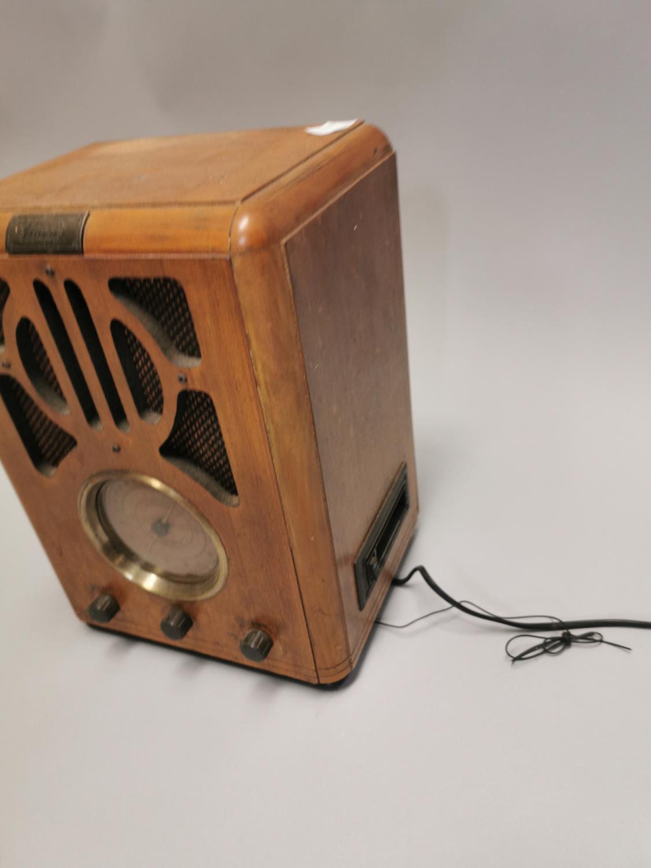 Art Deco style radio. - Image 4 of 8