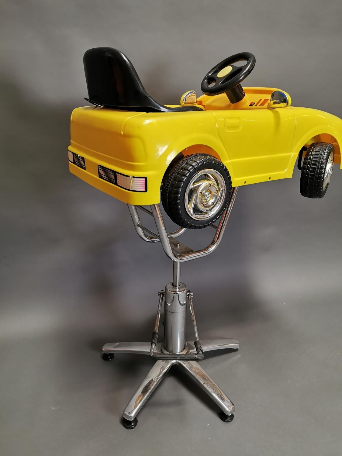 Unusual child's barbers chair - Image 6 of 6