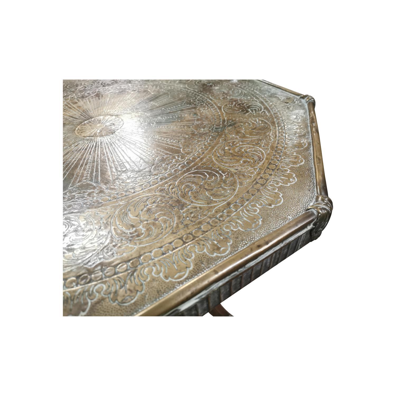 Mahogany centre table, - Image 3 of 5