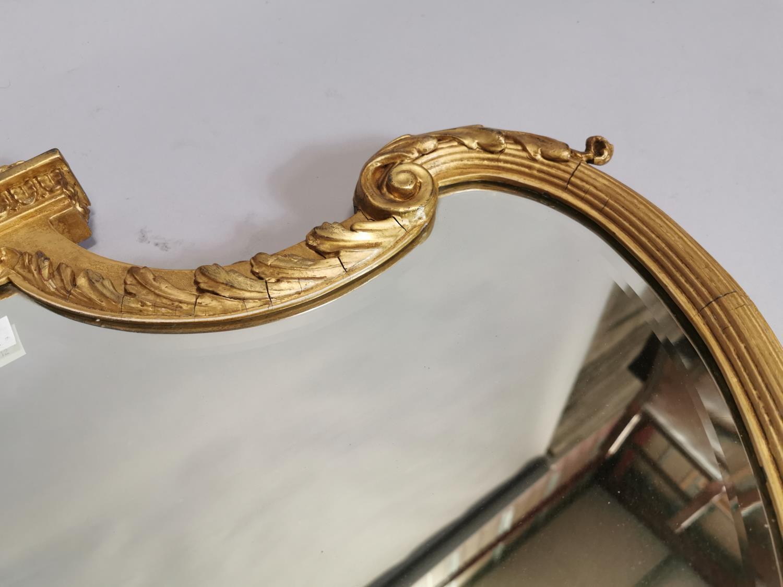 19th. C. gilt wall mirror - Image 6 of 7