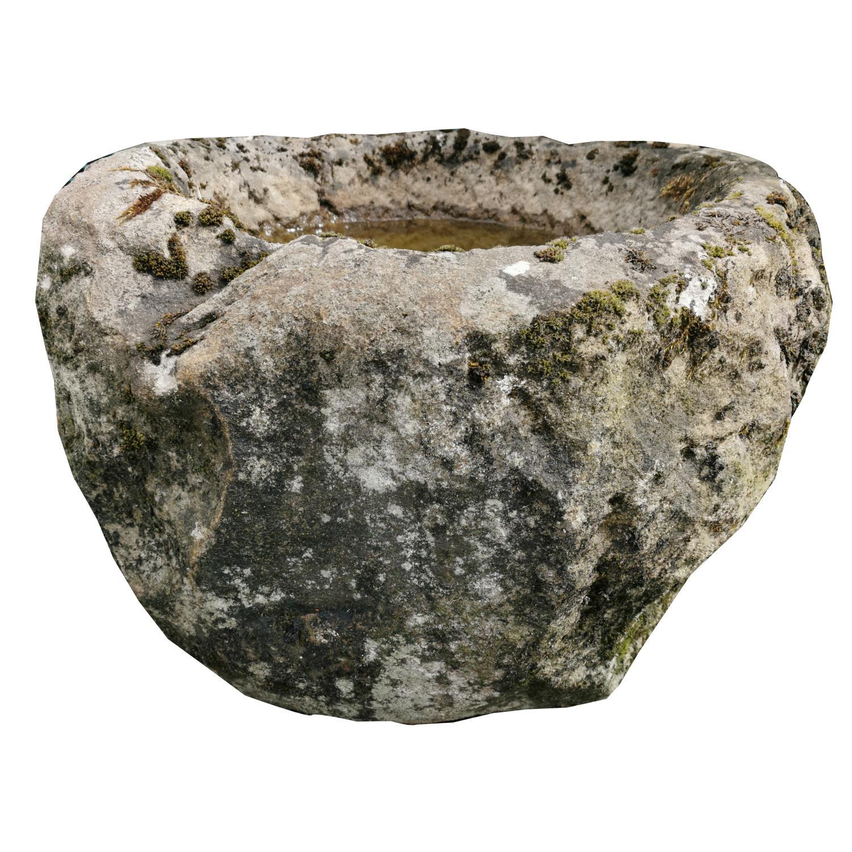 19th. C. sandstone whinstone. - Image 3 of 3