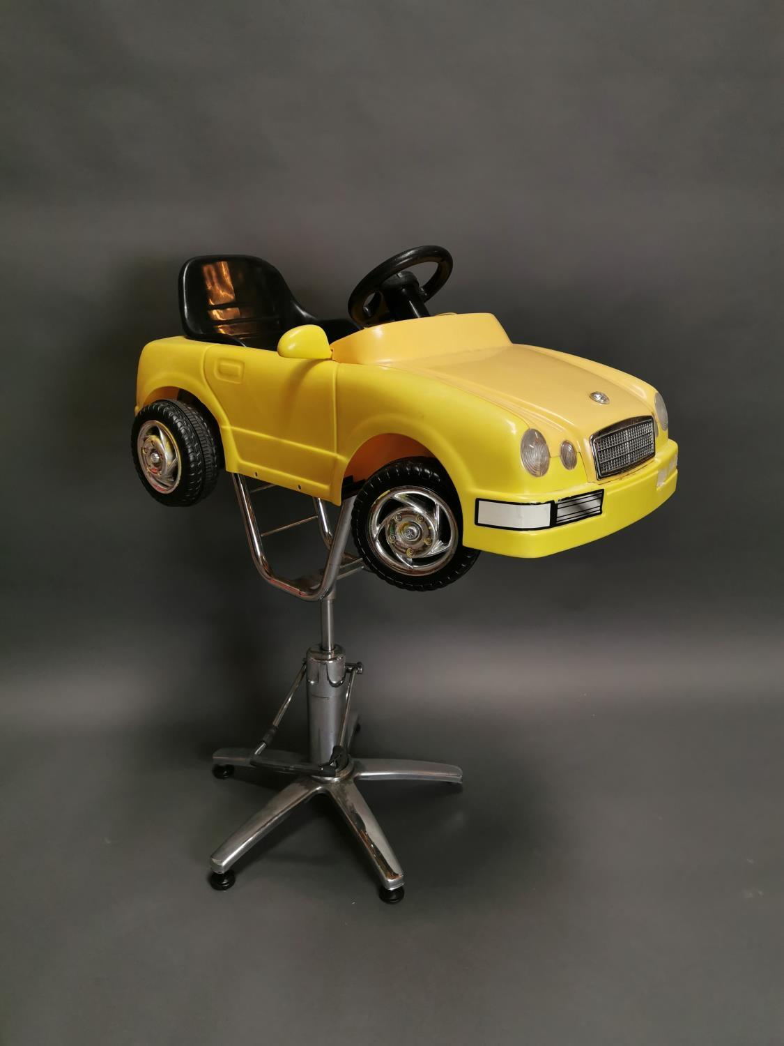 Unusual child's barbers chair - Image 2 of 6