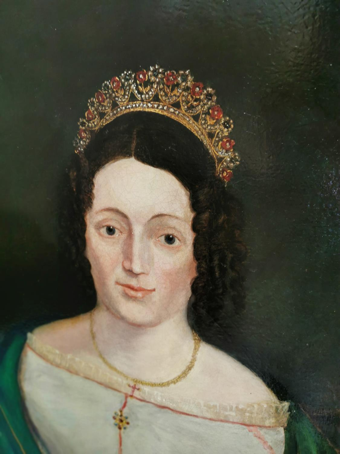 19th. C. oil on canvas - Image 2 of 7