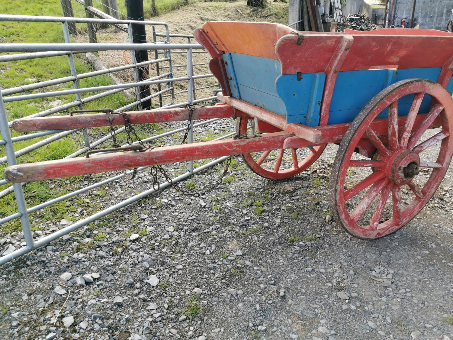 Early 20th C. pony cart. - Image 2 of 3