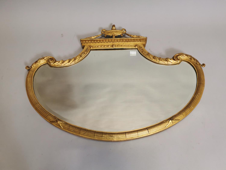 19th. C. gilt wall mirror