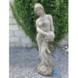 Composition statue of a Grecian Lady.