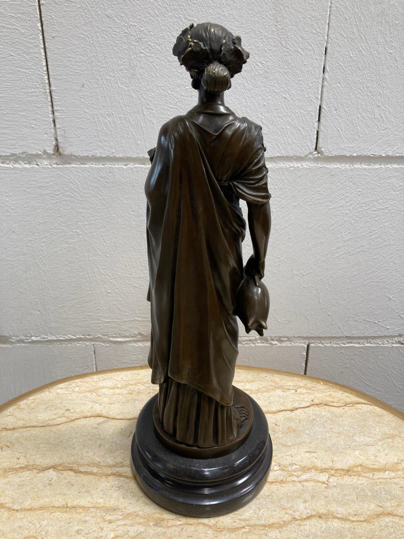 "Bronze Statue - Set of four ""Allegorical Figures"". - Image 9 of 12"