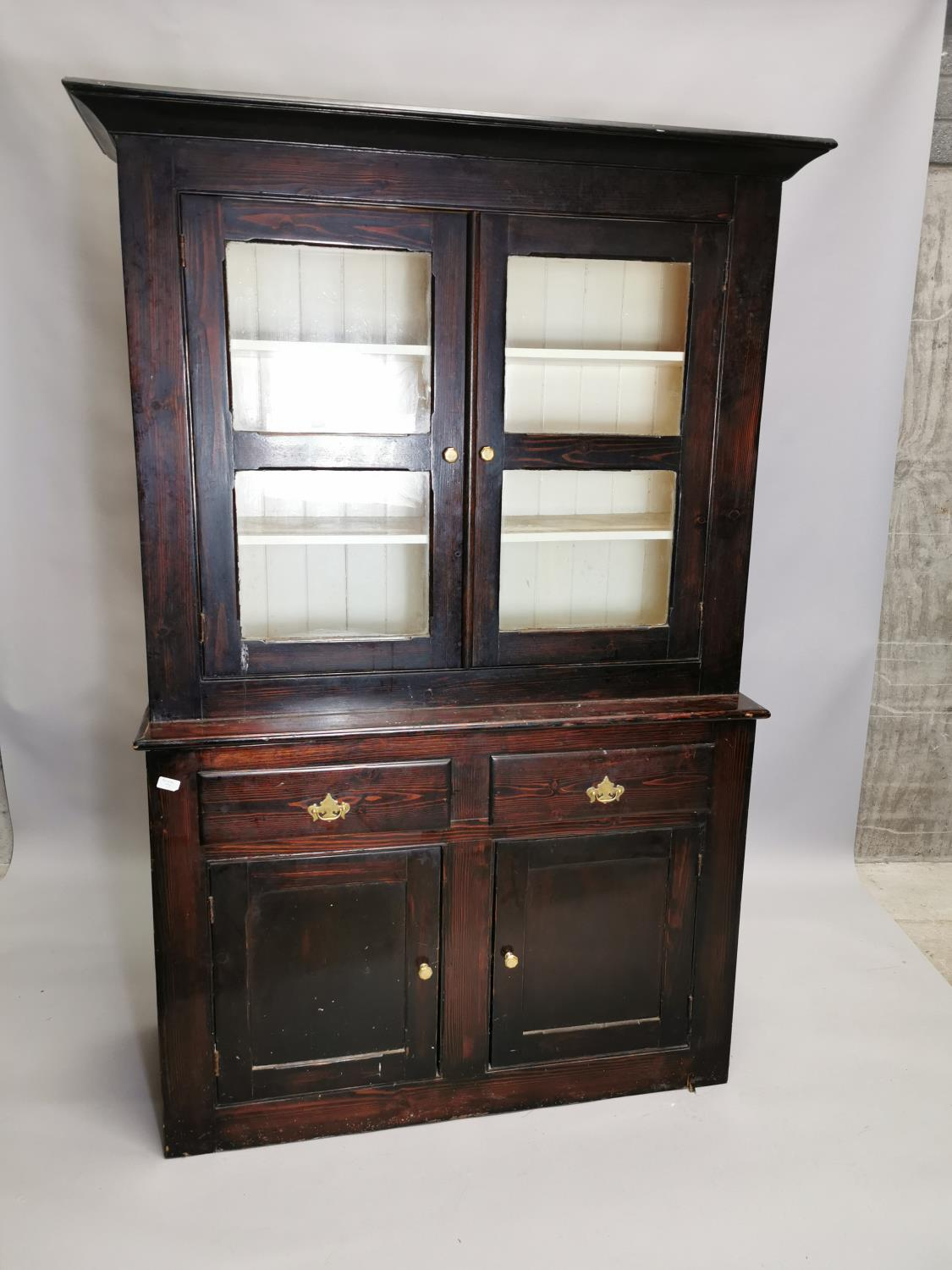 19th.C. painted cabinet