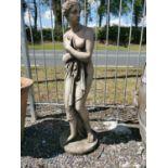 Composition statue of Venus.