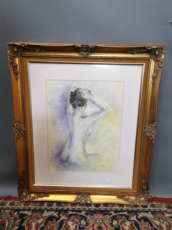 Una Thornton Nude Watercolour