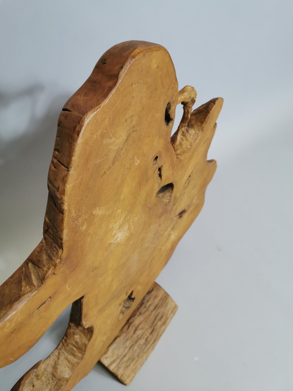 Unusual wooden sculpture - Image 5 of 7