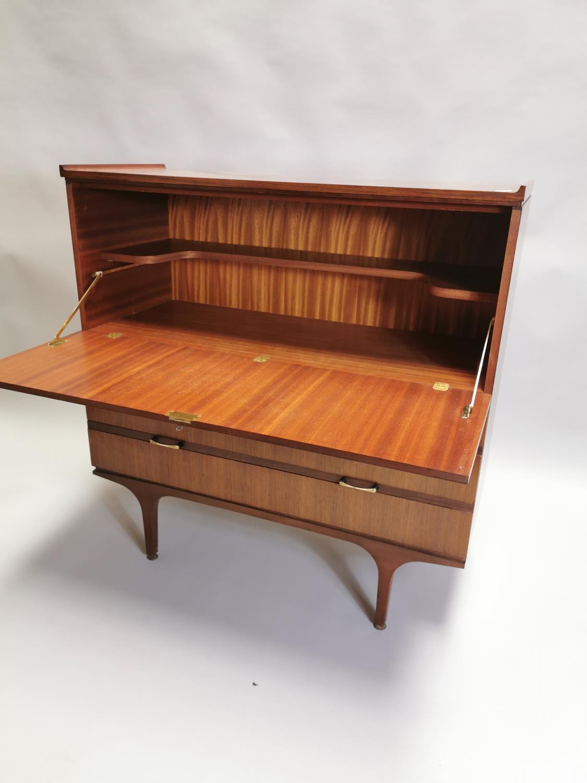Teak cocktail cabinet - Image 4 of 7