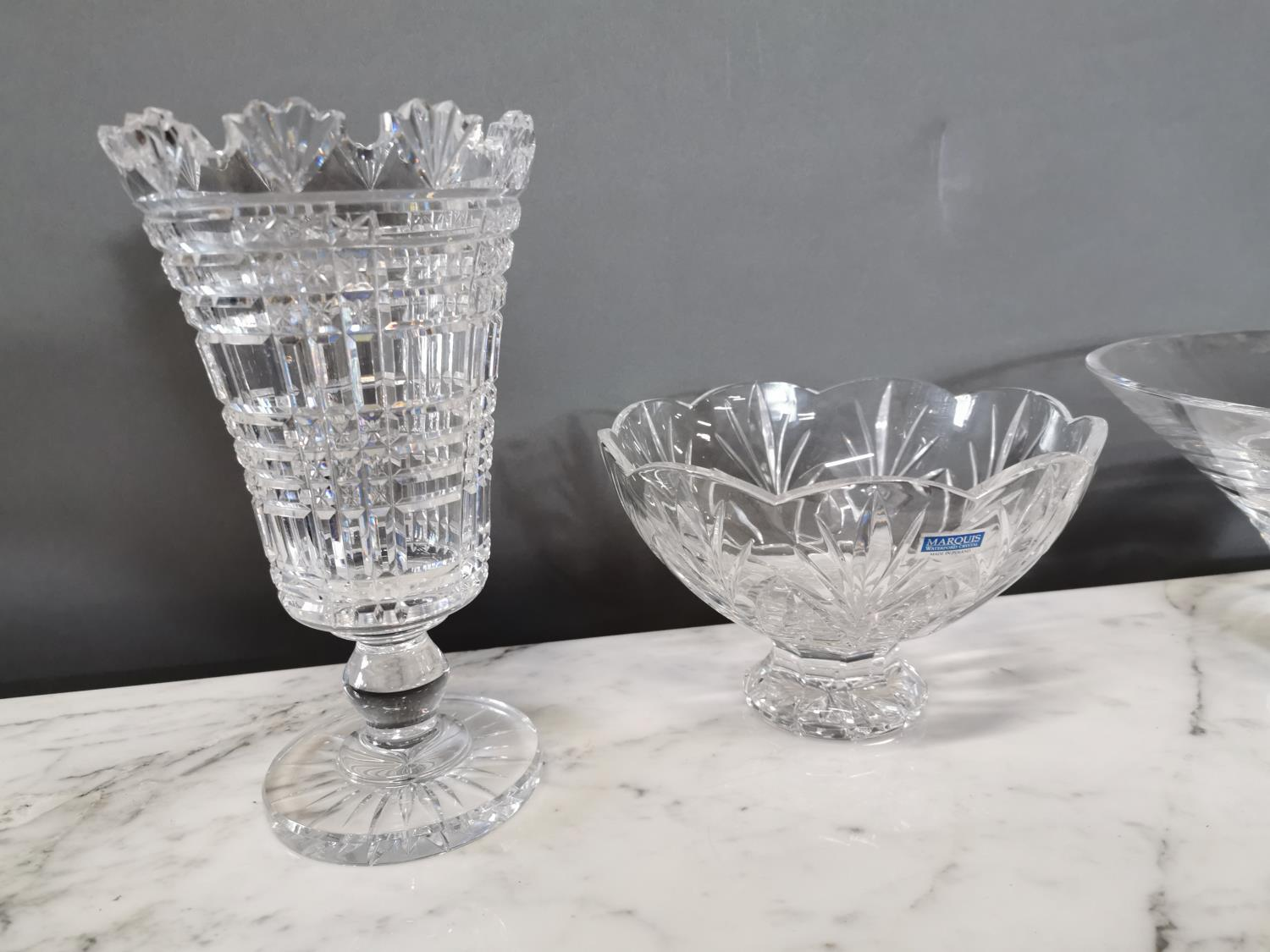 Two Waterford crystal vases - Image 2 of 2