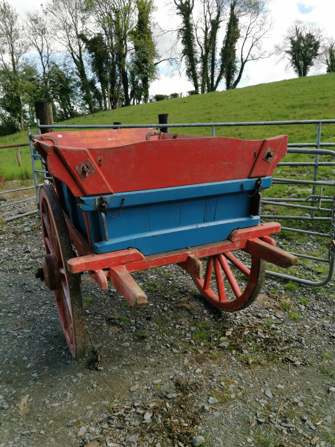 Early 20th C. pony cart. - Image 3 of 3