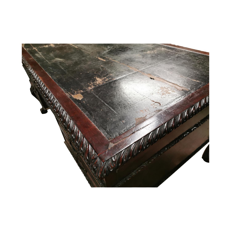 19th. C. mahogany writing desk, - Image 6 of 7