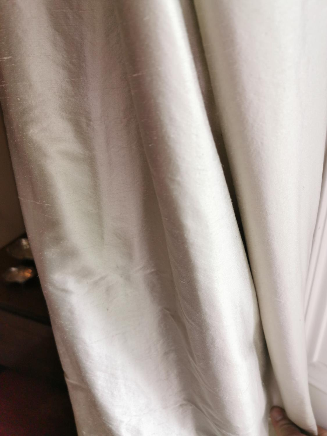 Pair of good quality curtains - Image 2 of 2