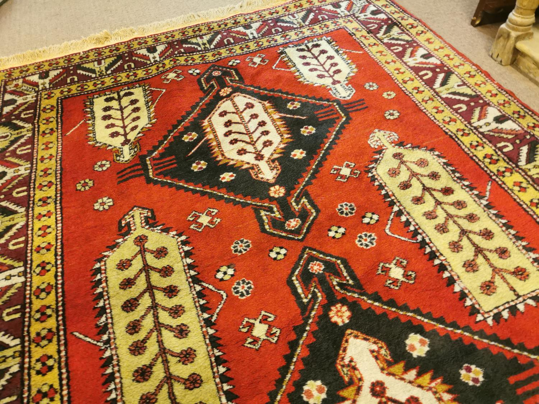 Turkish Yahal rug - Image 5 of 5