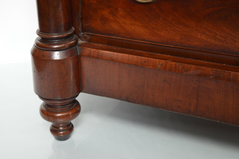 19th. C. mahogany chest - Image 2 of 3