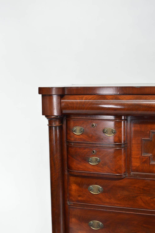 19th. C. mahogany chest - Image 3 of 3