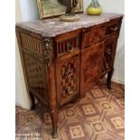 Kingwood chest of drawers