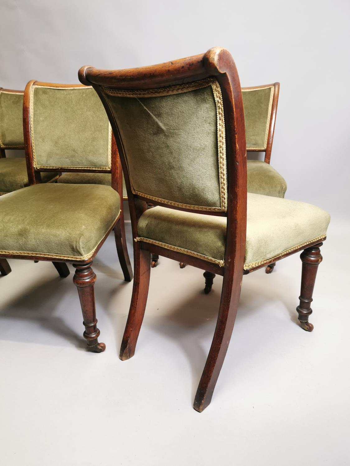 Set of six chairs - Image 4 of 5