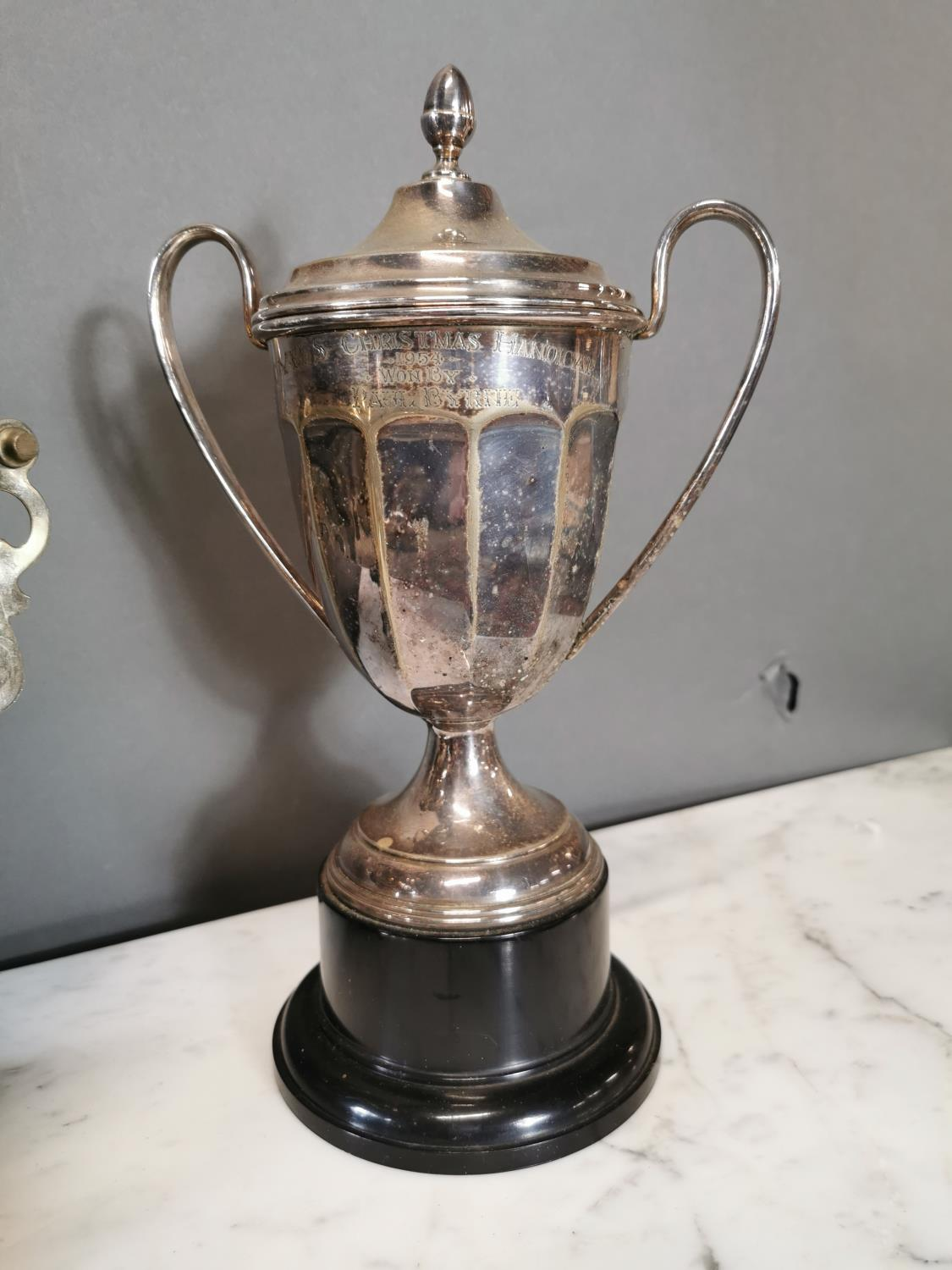 Early 20th. C. silverplated samovar - Image 3 of 3