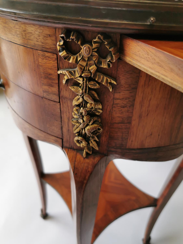 Unusual 19th. C. kingwood locker - Image 9 of 9