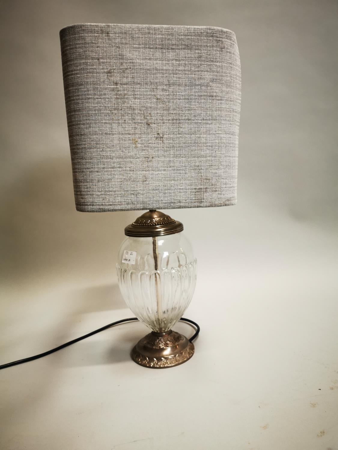 Good quality Laura Ashley table lamp - Image 2 of 8