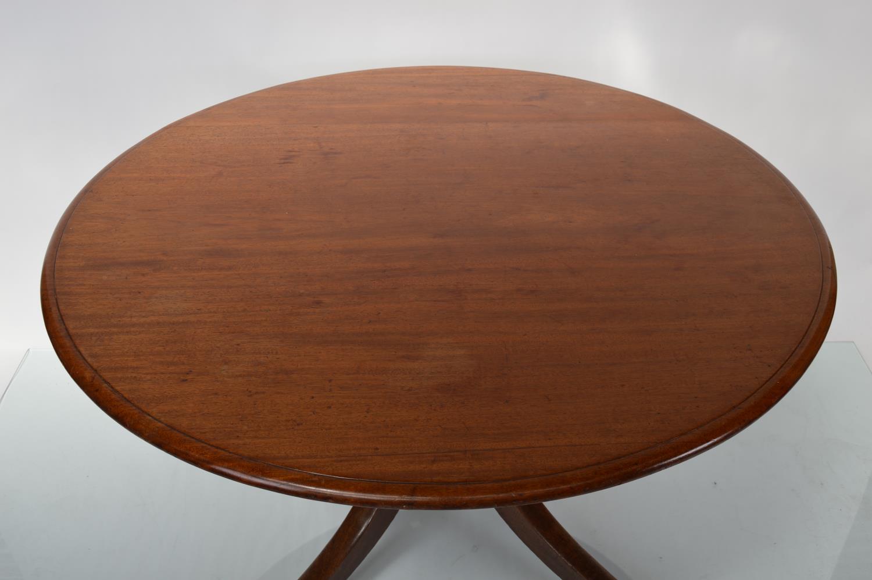 Georgian mahogany breakfast table - Image 2 of 3