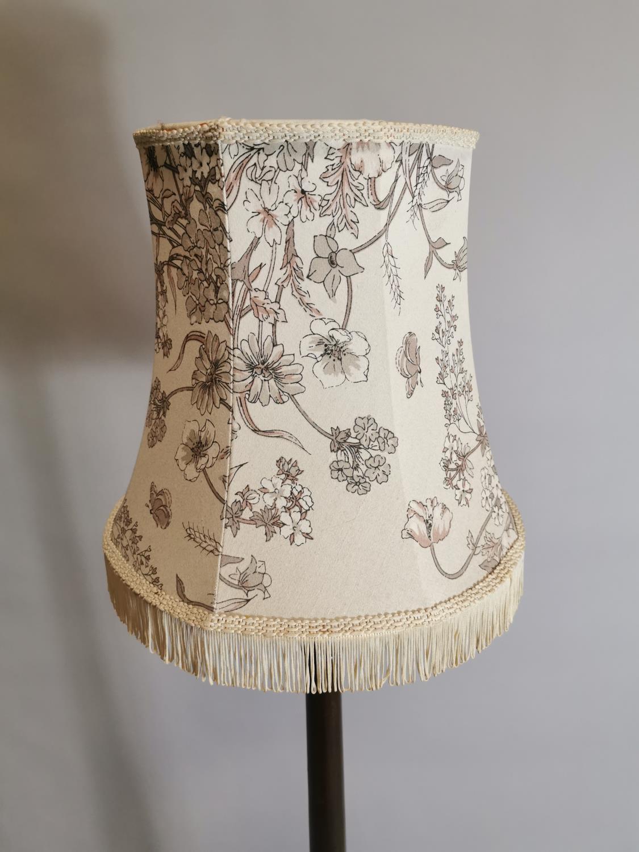 Edwardian mahogany standard lamp - Image 7 of 7