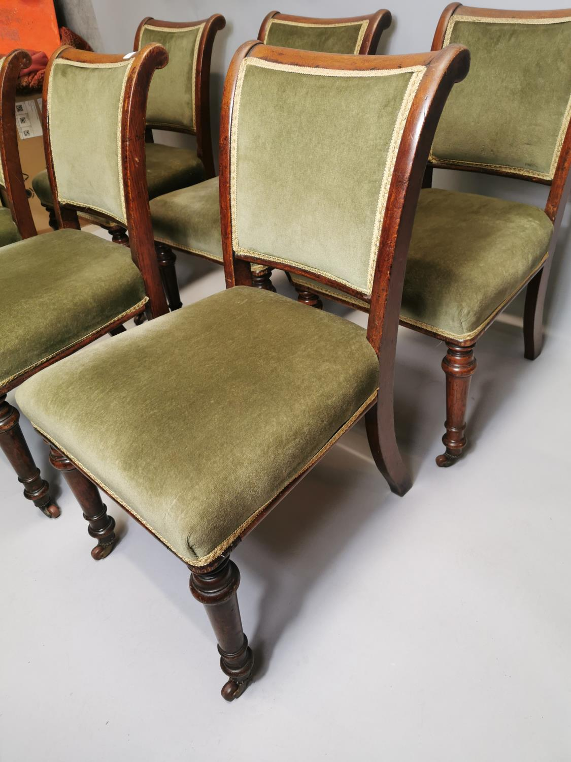Set of six chairs - Image 2 of 5