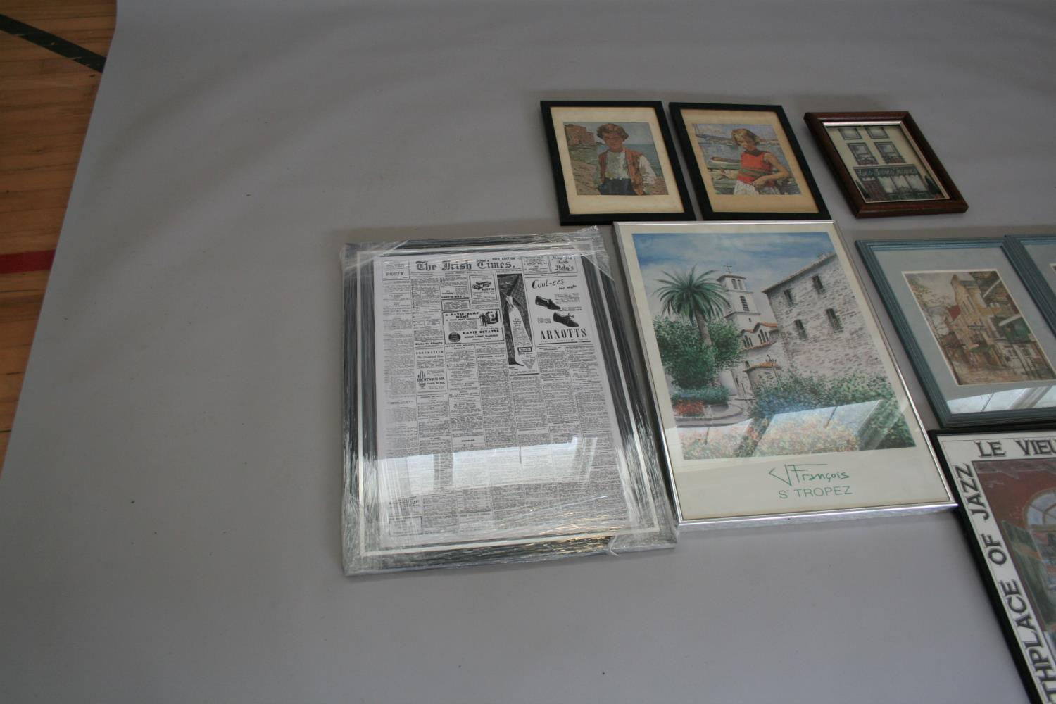 Collection of travel prints (10) - Image 4 of 4