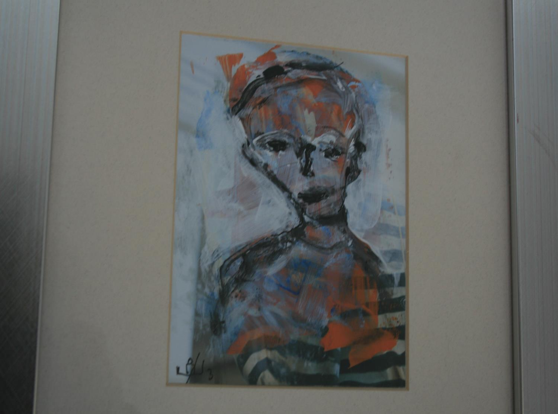 John Kingerlee mixed media. 11W x 16H - Image 2 of 4