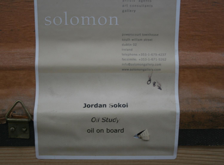 Jordan Sokoi 2005 oil on canvas - Still life. 34W x 29H - Image 2 of 2