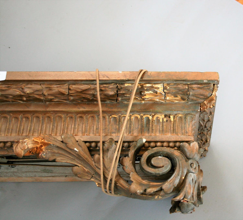 19th Century gilt decorative pelmet (as found). 225 long. - Image 2 of 4