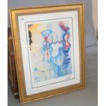 Salvador Dali: The Pharmacist signed print. 88W x 110H