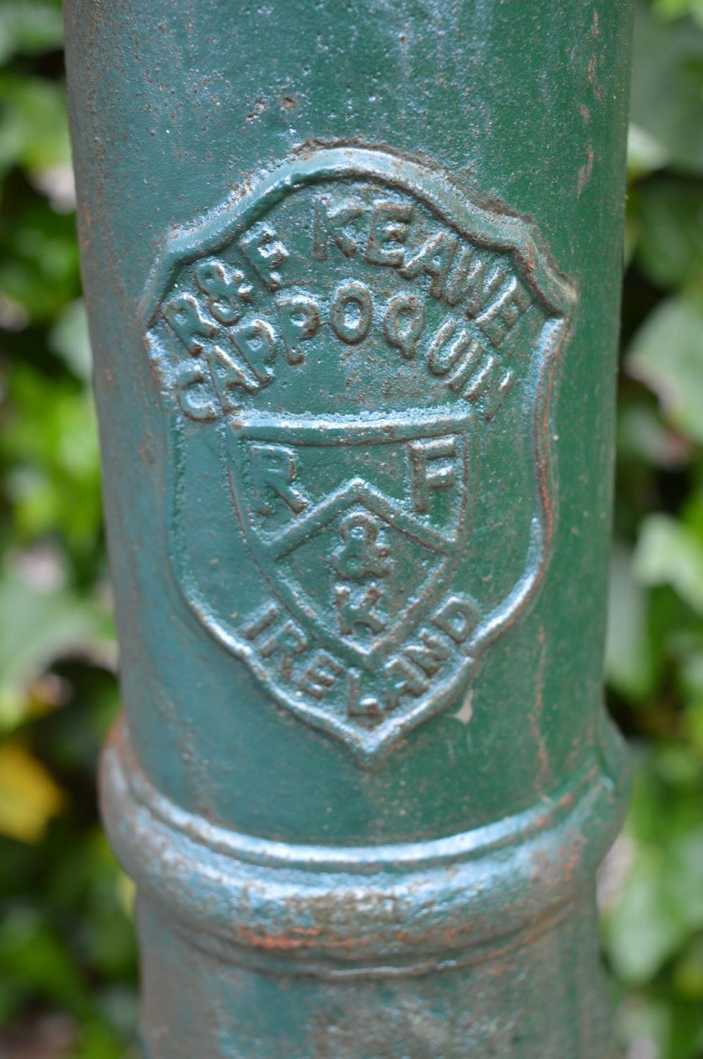 Cast iron cow tail pump. 32W 140H - Image 3 of 3